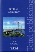 Cover of Scottish Roads Law