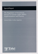 Cover of The Regulation of Investment Services in Europe under MiFID: Implementation and Practice