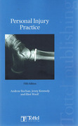Cover of Personal Injury Practice