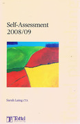 Cover of Self-Assessment 2008/09