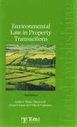 Cover of Environmental Law in Property Transactions