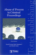 Cover of Abuse of Process in Criminal Proceedings