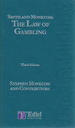 Cover of Smith and Monkcom: The Law of Gambling