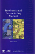 Cover of Insolvency and Restructuring Manual