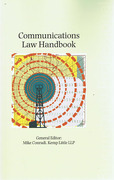 Cover of Communications Law Handbook