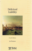 Cover of Delictual Liability