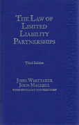 Cover of The Law of Limited Liability Partnerships