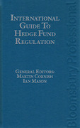 Cover of International Guide to Hedge Fund Regulation