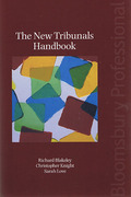 Cover of The New Tribunals Handbook