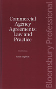 Cover of Commercial Agency Agreements: Law and Practice