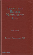 Cover of Fransman's British Nationality Law