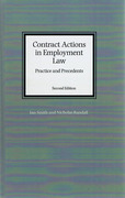 Cover of Contract Actions in Employment Law: Practice and Precedents
