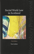 Cover of Social Work Law in Scotland
