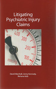 Cover of Litigating Psychiatric Injury Claims