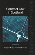 Cover of Contract Law in Scotland