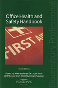 Cover of Office Health and Safety Handbook