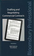 Cover of Drafting and Negotiating Commercial Contracts
