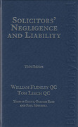 Cover of Solicitors' Negligence and Liability