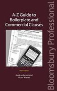 Cover of A-Z Guide to Boilerplate and Commercial Clauses