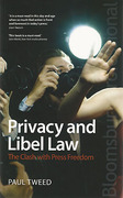Cover of Privacy and Libel Law: The Clash with Press Freedom