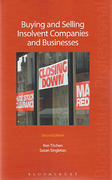 Cover of Buying and Selling Insolvent Companies and Businesses