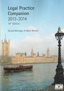 Cover of Legal Practice Companion 2013 - 2014