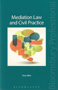Cover of Mediation Law and Civil Practice
