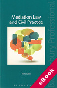 Cover of Mediation Law and Civil Practice (eBook)