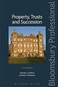 Cover of Property, Trusts and Succession