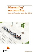 Cover of Manual of Accounting: Interim Financial Reporting 2013
