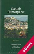 Cover of Scottish Planning Law (eBook)