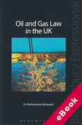 Cover of Oil and Gas Law in the UK (eBook)