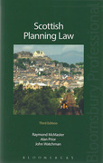 Cover of Scottish Planning Law