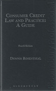 Cover of Consumer Credit Law and Practice: A Guide