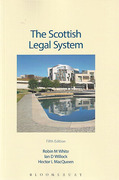 Cover of The Scottish Legal System