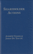 Cover of Shareholder Actions