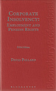 Cover of Corporate Insolvency: Employment and Pension Rights