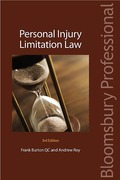 Cover of Personal Injury Limitation Law