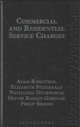 Cover of Commercial and Residential Service Charges