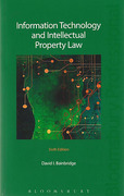 Cover of Information Technology and Intellectual Property Law