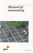 Cover of Manual of Accounting: IFRS for the UK 2014 Pack