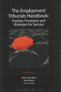 Cover of The Employment Tribunals Handbook: Practice, Procedure and Strategies for Success