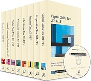 Cover of Core Tax Annuals Extended Set of Eight Volumes & CD-ROM 2014/15