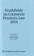 Cover of Freshfields on Corporate Pensions Law 2014