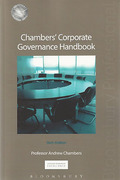 Cover of Chambers' Corporate Governance Handbook