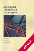 Cover of Accounting Principles for Tax Purposes (eBook)