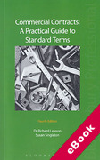 Cover of Commercial Contracts: A Practical Guide to Standard Terms (eBook)