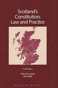 Cover of Scotland's Constitution: Law and Practice