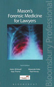 Cover of Mason's Forensic Medicine for Lawyers