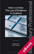 Cover of Walker and Walker: Law of Evidence in Scotland (eBook)